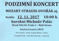 Podzimní koncert v Michnově paláci