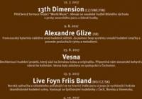 ArtCafé - Live Foyn Friis Band (NO/CZ/SK)