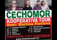 Čechomor: Kooperativa Tour 2017