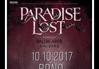 Paradise Lost (UK) + Pallbearer (USA) + Sinistro (PT)