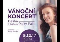 Vánoční koncert – Dasha a Pajky Pajk