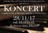 Koncert a křest klavírního křídla Steinweg