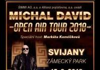 Michal David Open Air Tour 2018