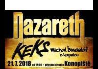 Nazareth + Keks + Michal Šindelář