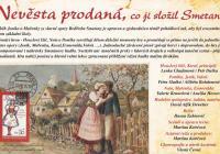 Nevěsta prodaná, co ji složil Smetana