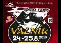 Slánský festival VALNÍK 2018