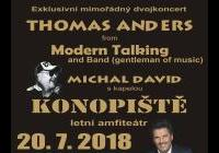 Thomas Anders from Modern Talking + Michal David