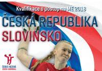 Česká republika - Slovinsko / Kvalifikace na ME 2018 Házená - ženy