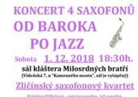 Od baroka po jazz pro 4 saxofony