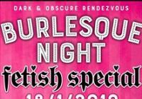 Burlesque Night - Fetish edition