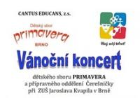 Vánoční koncert dětského sboru Primavera Brno