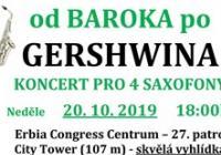 Od baroka po Gershwina. Koncert na vyhlídce.