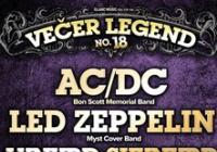 Večer legend No.18 = AC/DC+Zeppelini+Lynyrd Skynyrd+ZZ Top