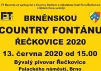 Brněnská Country fontána Řečkovice 2020 - přeloženo na rok 2021