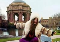 Ples hippies párty Janis Joplin Revival