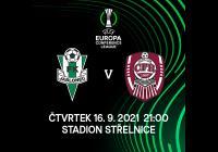 FK Jablonec vs. CFR 1907 Cluj Evropská konferenční liga UEFA