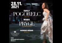 Emily Pogorelc a Boris Prýgl Ahmad Hedar - klavír