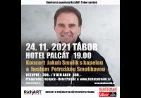 Jakub Smolík s kapelou Host: Petruška Smolíková