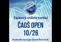 Šipkový turnaj - ČAOŠ OPEN 10/26