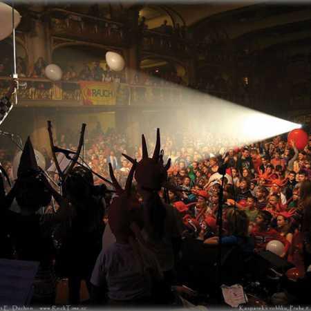 Tradiční vánoční koncert Kašpárka v rohlíku