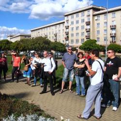 Sousedská procházka: Vetřelci a socialistický veřejný prostor na Slovanech