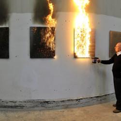Bernard Aubertin: Oheň a jeho stopy