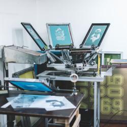Kurz sítotisku a serigrafie