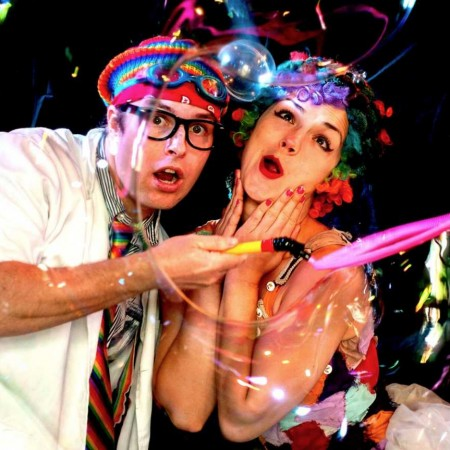 Bubble Show with Milkshake