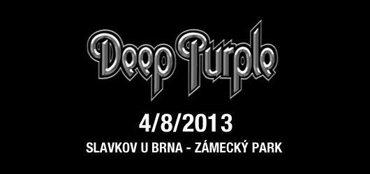 Deep Purple přijedou do Slavkova u Brna