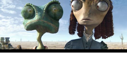 Rango: rozjívený chameleon šerifem