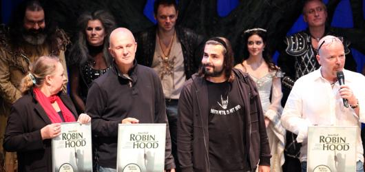 Robin Hood slavil v pražském Kalichu