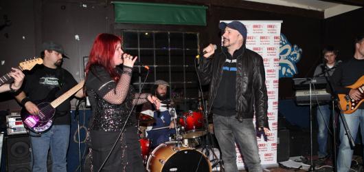 Rockerka Leona Šenková oslavila své narozeniny koncertem