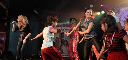 Hanka Kynychová už posedmé tančila s dětmi z dětských domovů