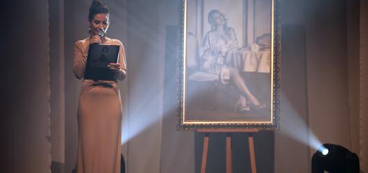 Na křtu kalendáře Miss Lindy Bartošové se dražil obraz pro UNICEF