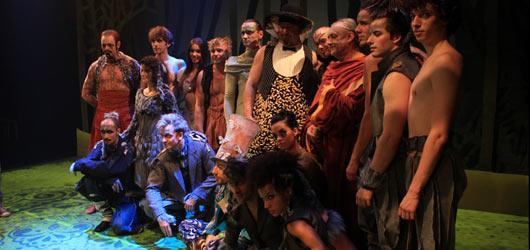 Divadlo Kalich zahalilo svého Mauglího do kostýmů