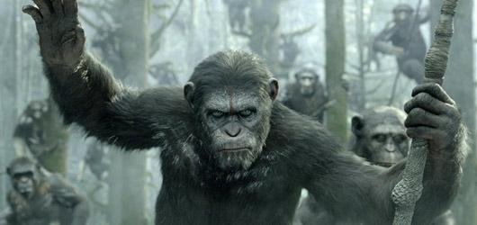 Úsvit planety opic: nejlepší sci-fi roku s parádně ponurou atmosférou