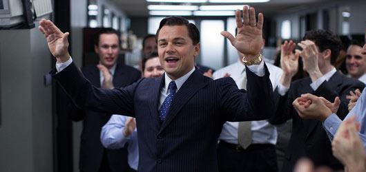 Božský DiCaprio jako Vlk z Wall Street