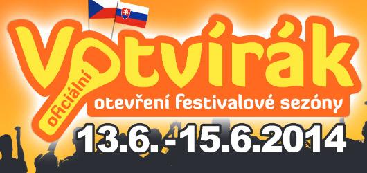 Votvírák odstartuje letošní festivalovou sezónu. Vyhrajte si vstupenku