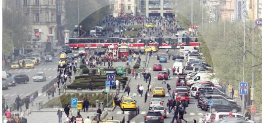 Dvě tváře Prahy: Václavské náměstí očima studentů