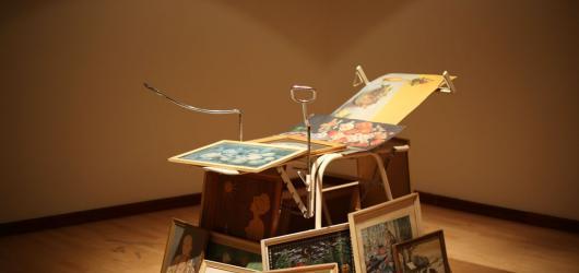 Výstava Mileny Dopitové Miluji a přijímám