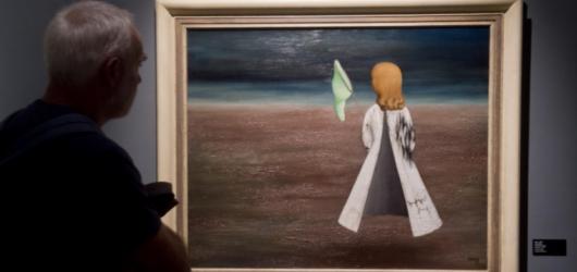 Surrealistická malířka Toyen vystavuje v Praze
