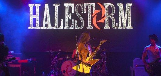 Američtí Halestorm vystoupili poprvé v Česku