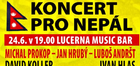 Tento týden se hraje pro Nepál! Exotickými rytmy se rozezní i Lucerna Music Bar