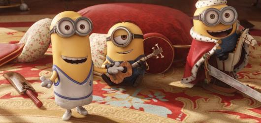 Recenze: Mimoni (80 %)  #Film