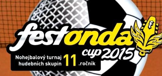 Festonda CUP 2015 startuje již tuto středu. Která kapela se stane letošním nohejbalovým mistrem?