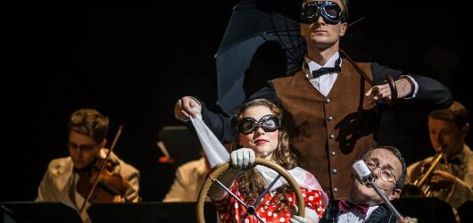 Saturnina v Brně doprovází živý swingband