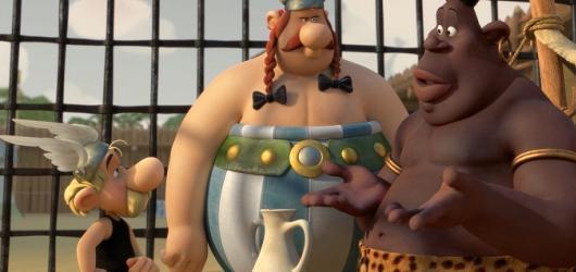 Asterix: Sídliště bohů – povedený 3D animák pobaví dospělé i větší děti