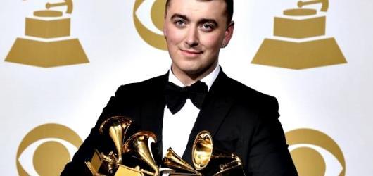 Grammy Awards 2015: Nejvíce bodoval mladý Sam Smith. Ze šesti nominací ovládl čtyři
