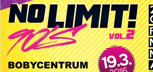 Vyhrajte volňásky na taneční večírek No limit! 90´s vol. 2 Brno