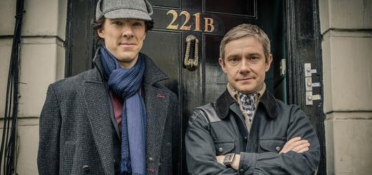 Česká televize uvede čtvrtou řadu Sherlocka i další seriály z produkce BBC